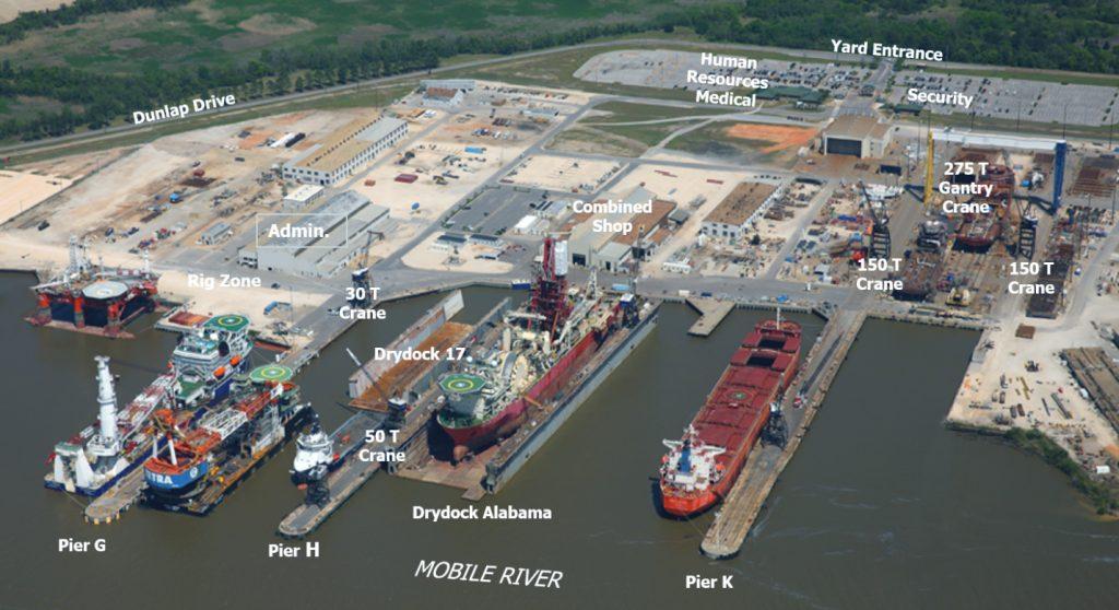 alabama shipyard map