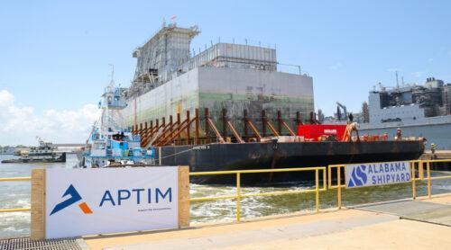 SSSB Arrives at Alabama Shipyard