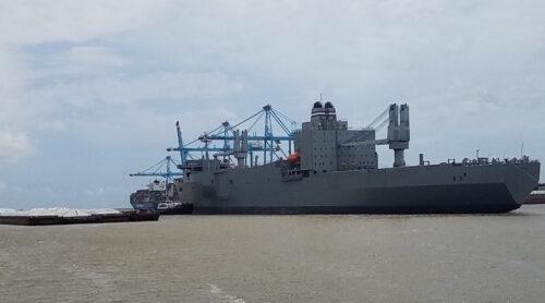 The SS Regulus Departs Alabama Shipyard After Repairs
