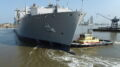Alabama Shipyard Says Goodbye to USNS Lewis and Clark