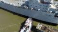 MV Cape Diamond Arrives at Alabama Shipyard